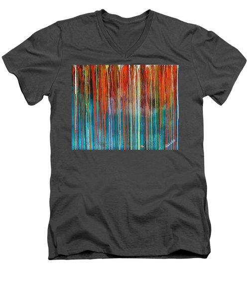 Seed Men's V-Neck T-Shirt by Ralph White