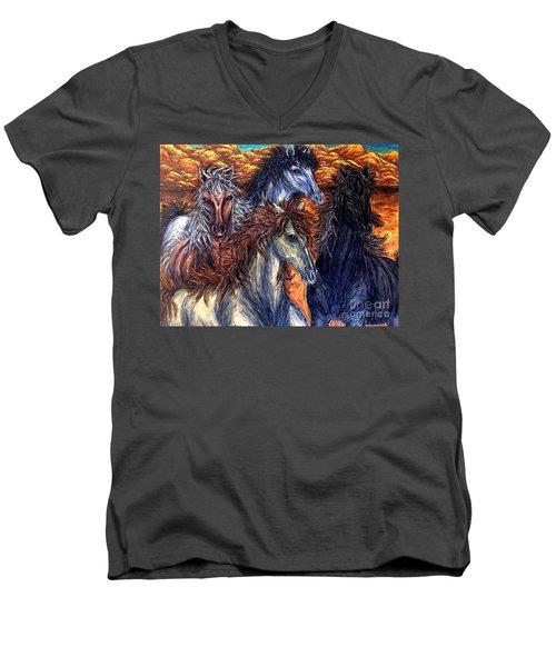 Seeds Of Independence Men's V-Neck T-Shirt