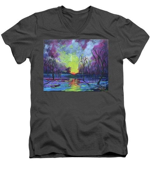 Seeing Through The Truth Men's V-Neck T-Shirt