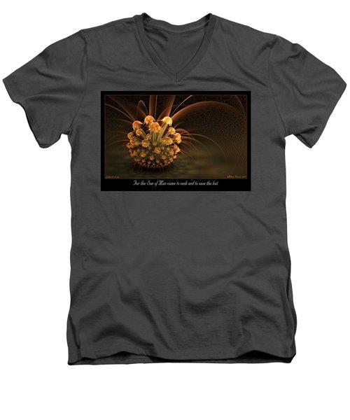 Seek And Save Men's V-Neck T-Shirt