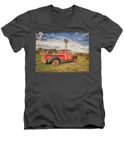 Seen Better Times Men's V-Neck T-Shirt