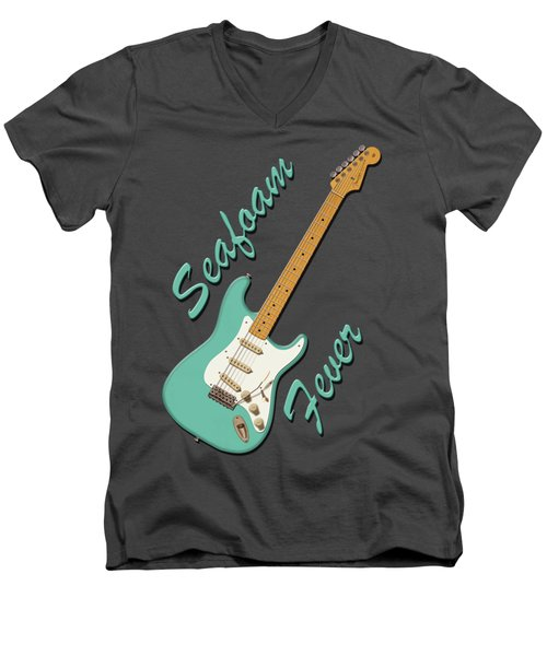 Seafoam Fever Men's V-Neck T-Shirt