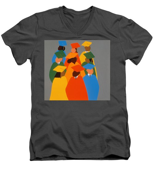 Self Determination Men's V-Neck T-Shirt