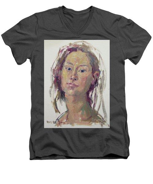 Self Portrait 1602 Men's V-Neck T-Shirt