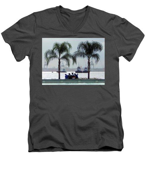 Selfie Us Men's V-Neck T-Shirt