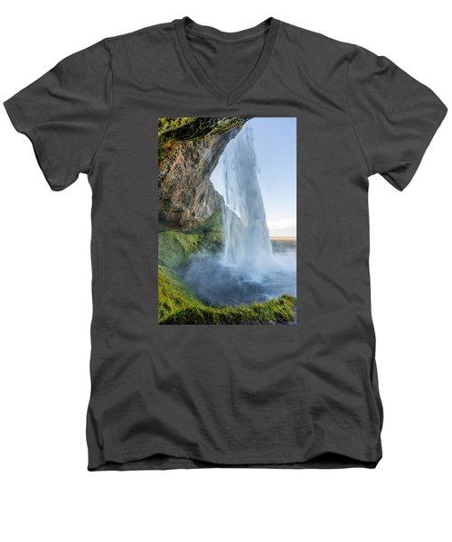 Seljalandsfoss Men's V-Neck T-Shirt
