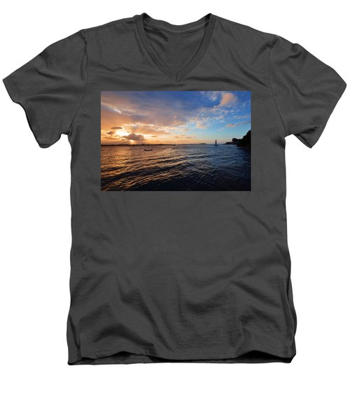 Men's V-Neck T-Shirt featuring the photograph Semblance 3769 by Ricardo J Ruiz de Porras