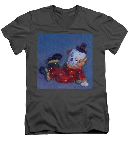Send In The Clowns Men's V-Neck T-Shirt