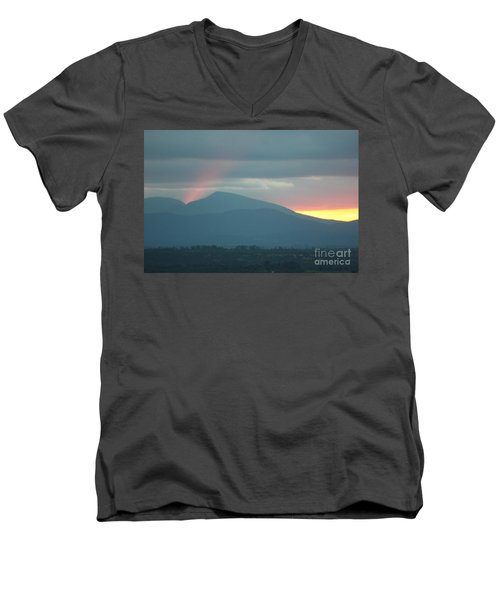 Men's V-Neck T-Shirt featuring the photograph Sendoff by Brian Boyle