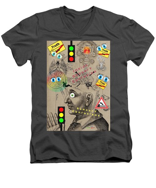Sensory Confusions Men's V-Neck T-Shirt