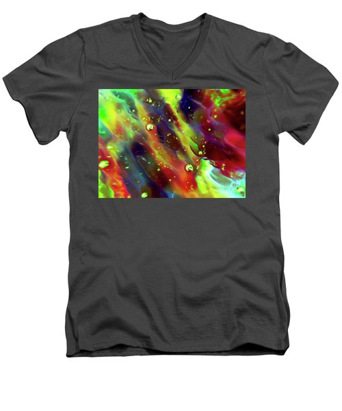 Sensual Illusion Men's V-Neck T-Shirt by Todd Breitling