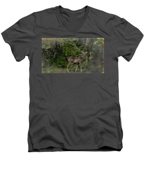 Separated And Diseased Men's V-Neck T-Shirt
