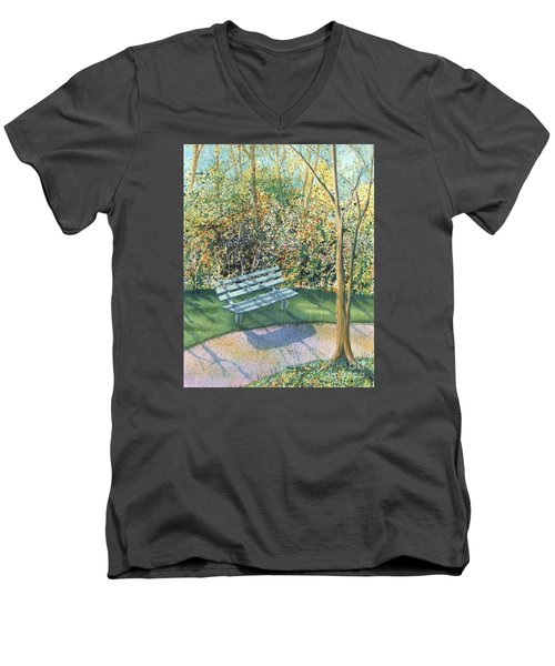 September Afternoon Men's V-Neck T-Shirt