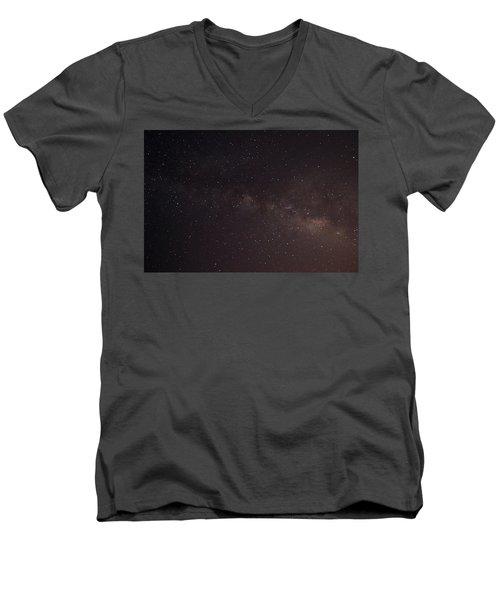 September Galaxy I Men's V-Neck T-Shirt by Carolina Liechtenstein