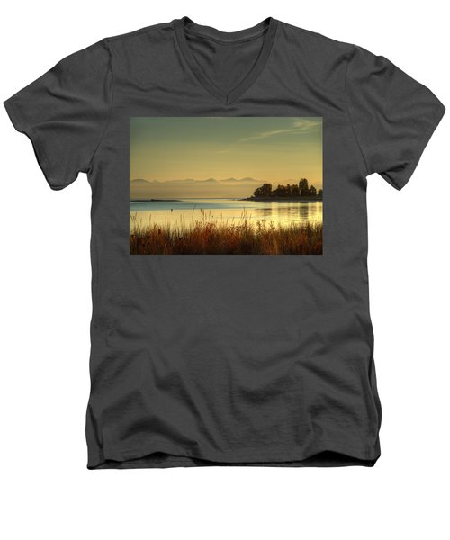 September Morn Men's V-Neck T-Shirt