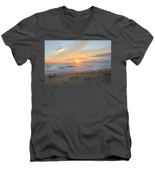 September Sunrise  30 Men's V-Neck T-Shirt