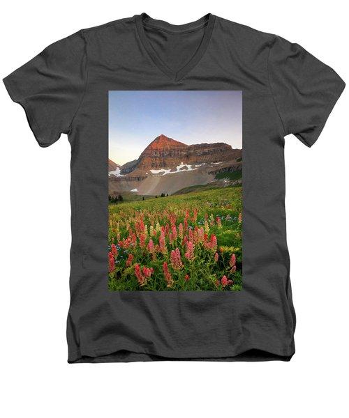 September Wildflowers Men's V-Neck T-Shirt