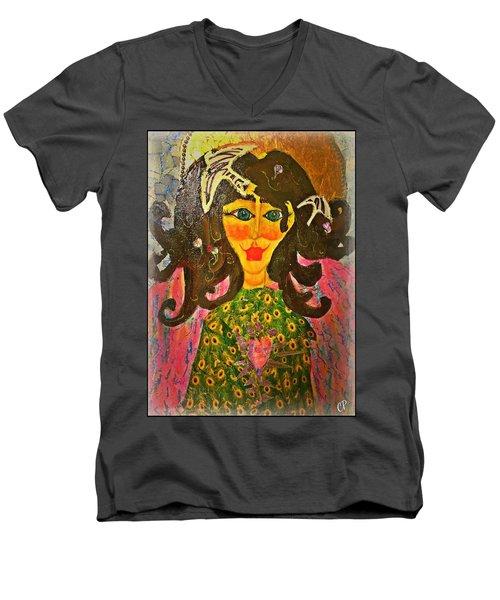Seraphina Men's V-Neck T-Shirt