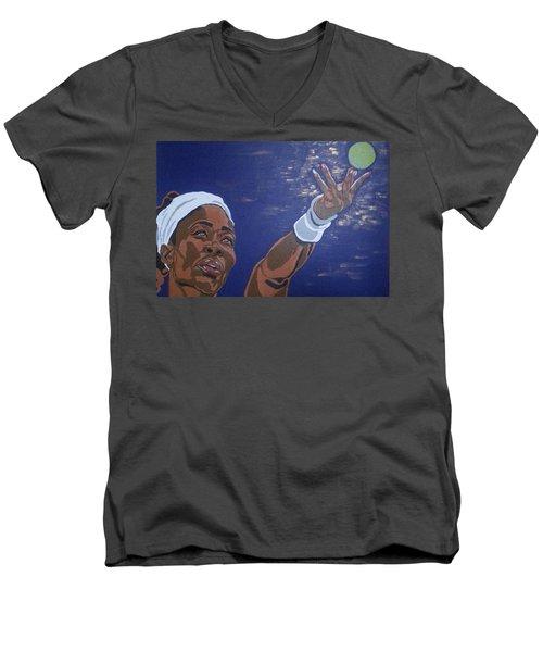 Serena Williams Men's V-Neck T-Shirt