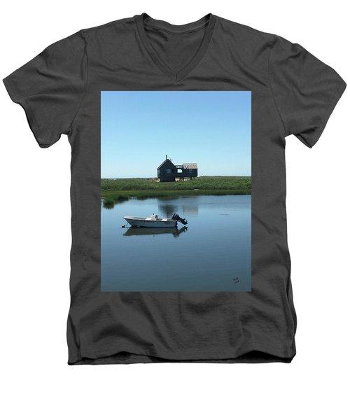 Serene Life Men's V-Neck T-Shirt