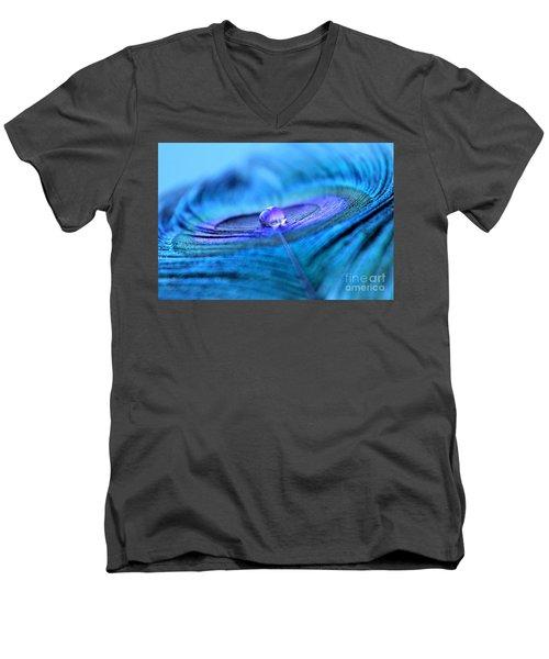 Serenity Begins Men's V-Neck T-Shirt