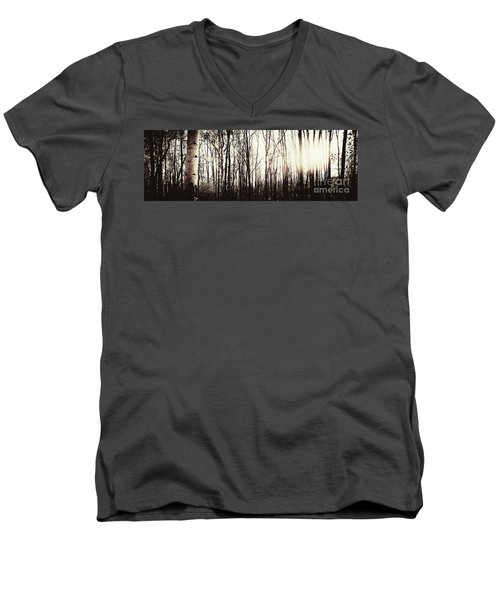 Series Silent Woods 3 Men's V-Neck T-Shirt