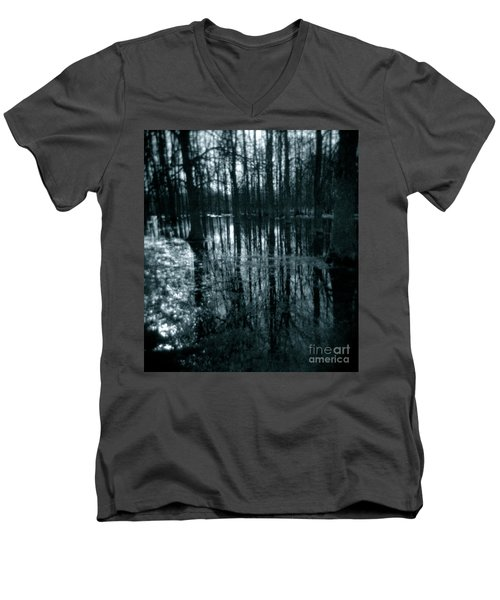Series Wood And Water 7 Men's V-Neck T-Shirt