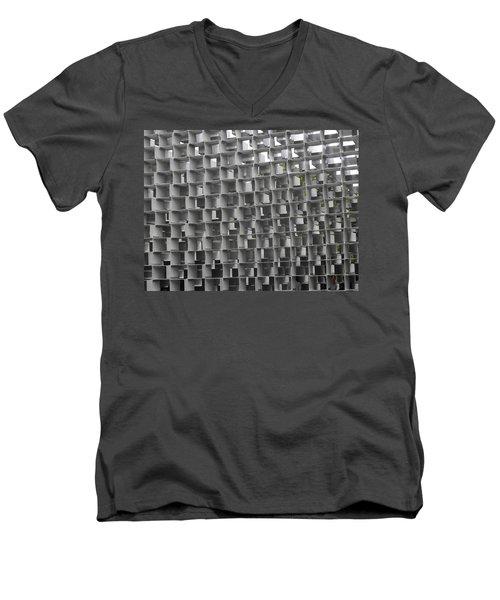 Serpentine Pavilion 02 Men's V-Neck T-Shirt