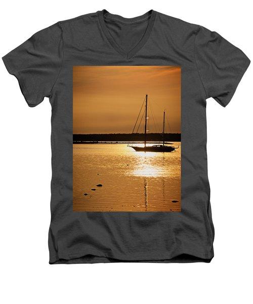 Setting Sun II Men's V-Neck T-Shirt