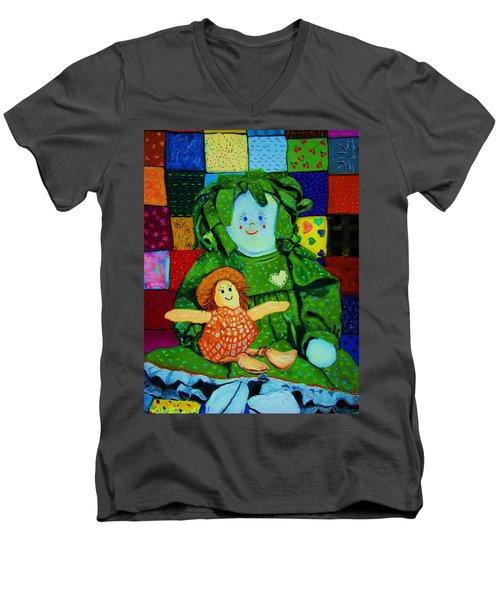 Sew Sweet Men's V-Neck T-Shirt