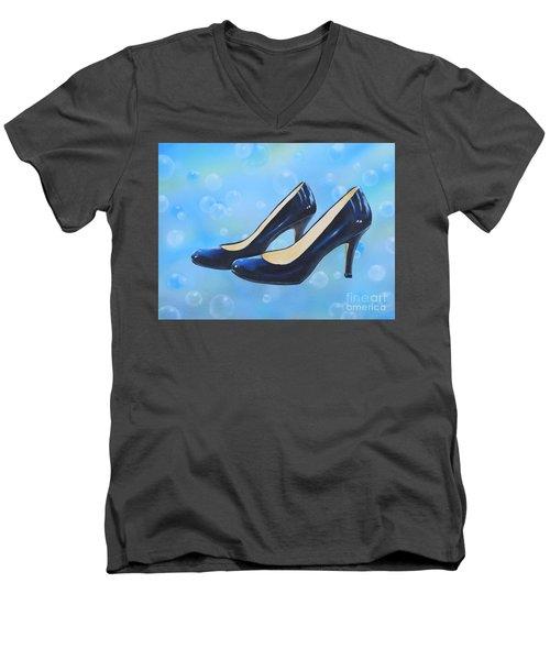 Sexy Shoes Men's V-Neck T-Shirt