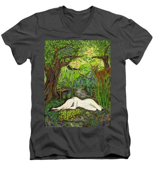 Shade Falls Men's V-Neck T-Shirt