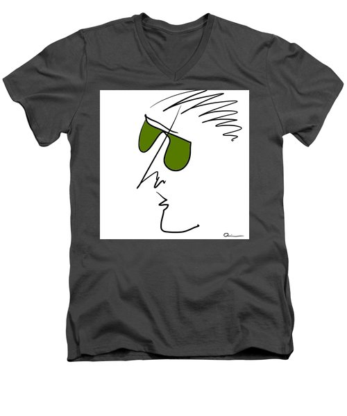 Shades Men's V-Neck T-Shirt