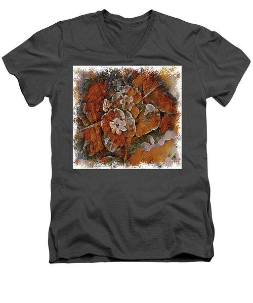 Shades Of Autumn Men's V-Neck T-Shirt