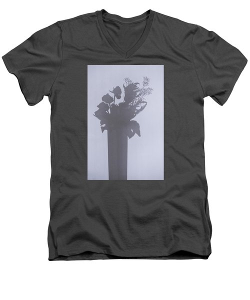 Shades Of Roses Men's V-Neck T-Shirt