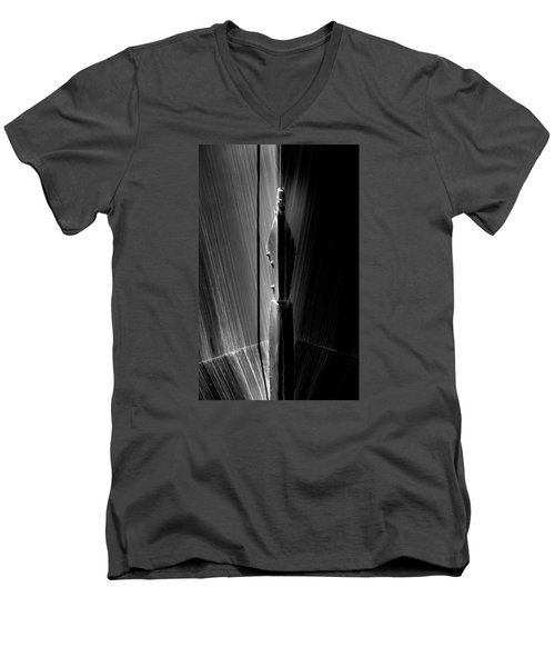 Shadow And Lines Men's V-Neck T-Shirt