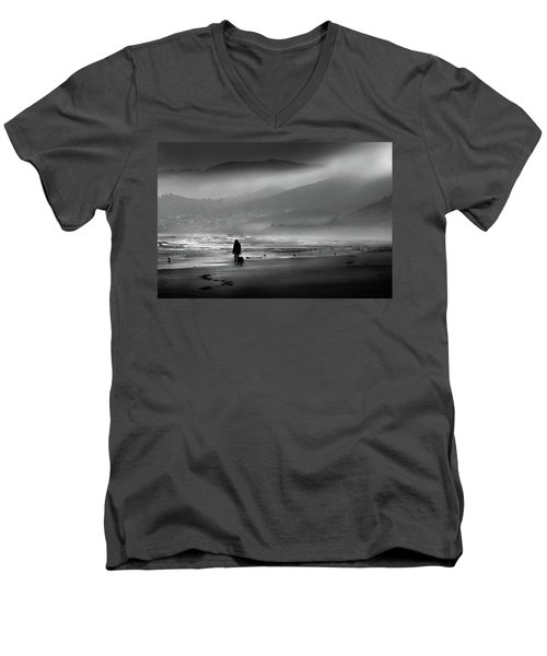 Shadow Of A Doubt Men's V-Neck T-Shirt