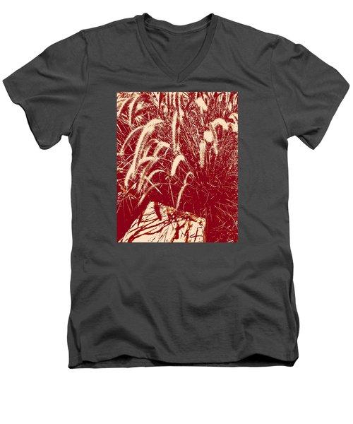 Shadow Painting Men's V-Neck T-Shirt