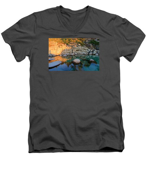 Shadow Selfie Men's V-Neck T-Shirt