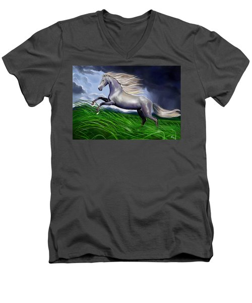 Shadowfax Men's V-Neck T-Shirt