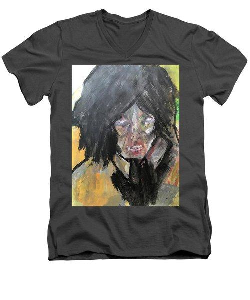 Shadows And Hearts Men's V-Neck T-Shirt
