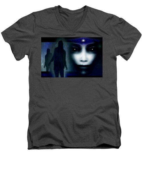 Shadows Of Fear Men's V-Neck T-Shirt