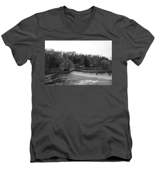 Shadows On The Mill In Clinton Men's V-Neck T-Shirt