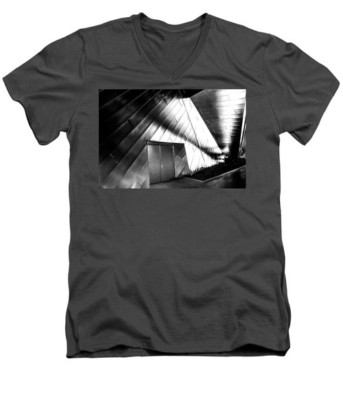 Shadows On The Wall Men's V-Neck T-Shirt