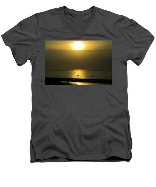 Shaft Of Gold Men's V-Neck T-Shirt