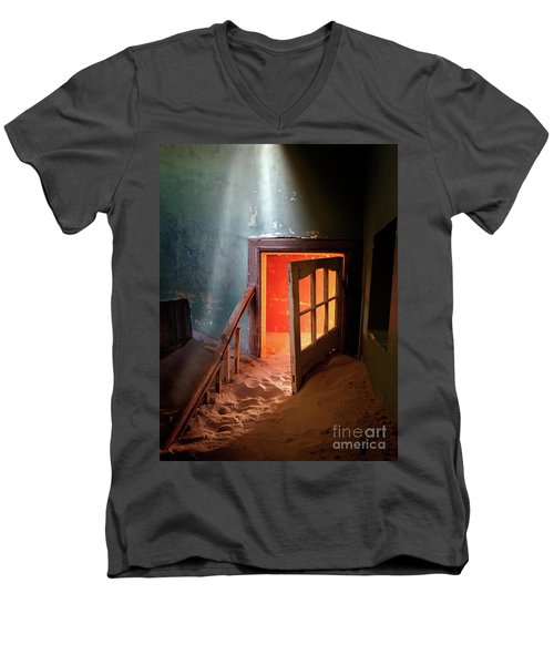 Shaft Of Light Men's V-Neck T-Shirt