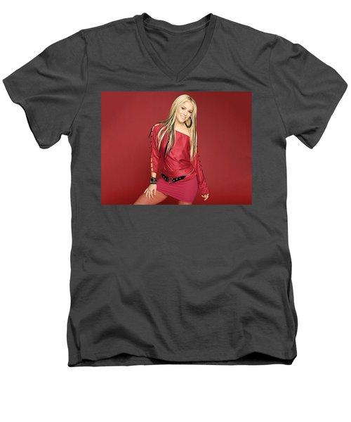 Shakira 51 Men's V-Neck T-Shirt