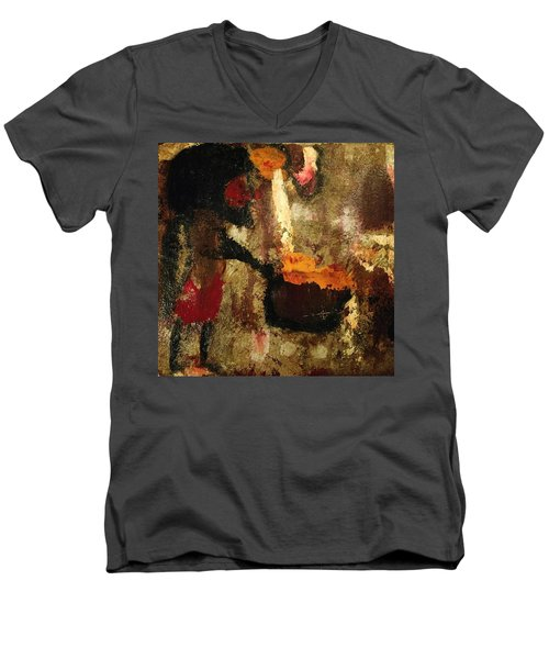 Shaman Alchemist Men's V-Neck T-Shirt