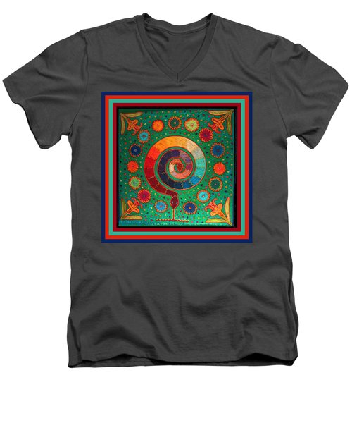 Shaman Serpent Ritual Men's V-Neck T-Shirt