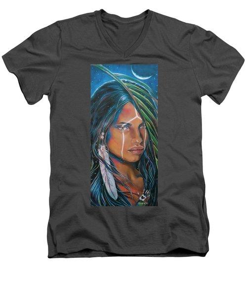 Shamanic Feelher Men's V-Neck T-Shirt
